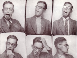 Raymond Queneau, exercising his styles