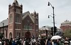 Lincoln's relevance was buried at his funeral's 150th anniversary in Springfield