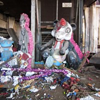 """The trespasses of Chicago's urban explorers Remains inside the """"Float Factory,"""" Chicago Eric Holubow"""