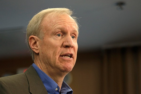 Republican Bruce Rauner has given more than $6.5 million to his own campaign for governor, allowing all donors to give as much as they want in the race.