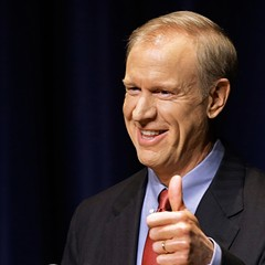 Republican gubernatorial hopeful Bruce Rauner has poured his own money into his campaign, but he's not the only one.