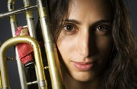 Fat-toned trombonist Reut Regev among the highlights of the Israeli Jazz & World Music Festival