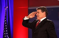 Rick Perry: Texas A&M fan, presidential candidate, fibber
