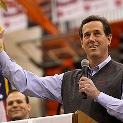Rick Santorum is running for president, because of course he is.