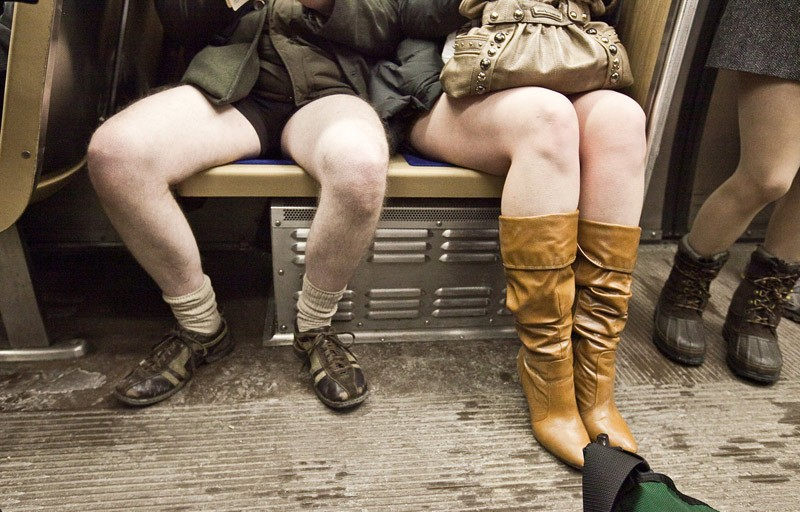 Robbie Conaway No Pants Subway Ride