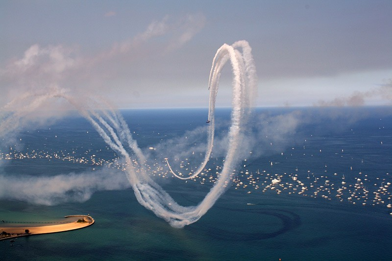 Robert Boake Chicago air and water show