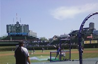 It's a beautiful day for a ball game indeed