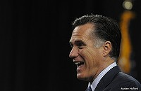 Romney in Chicago tonight