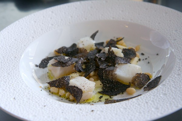 Salt cod with purgatory beans and truffles - JULIA THIEL