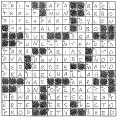 Sam Worley's Chillinois crossword puzzle solution