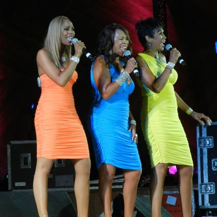 Saturday's Rivers Casino stage headliners the Pointer Sisters