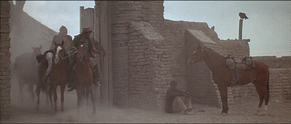 Screen grabs from the final scene of The Wild Bunch (1969)