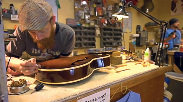 Screenshot from Chicago Fret Works: A Look Inside by Steve Baker
