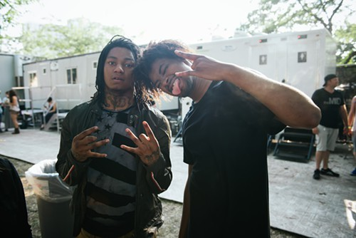SD and Danny Brown