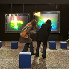 See rescued holograms from the shuttered Museum of Holography for one night only