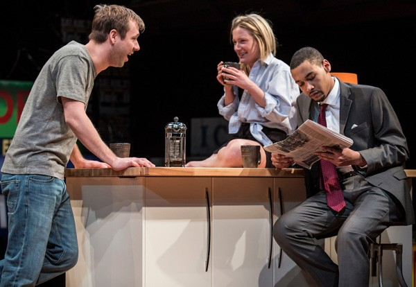 Shane Kenyon, Lee Stark, and Eric Lynch in Buzzer
