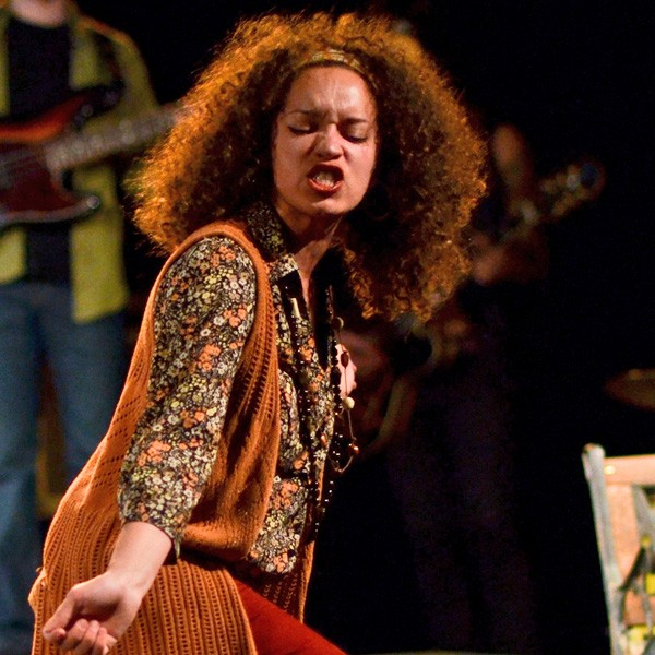 Shannon Matesky in the 2012 production of the Inconvenience's Hit the Wall - RYAN BOURQUE
