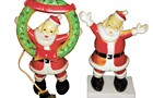 Show us your . . . plastic Santas