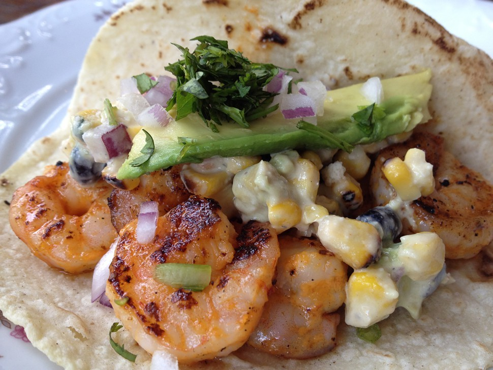 shrimp taco special, Antique Taco