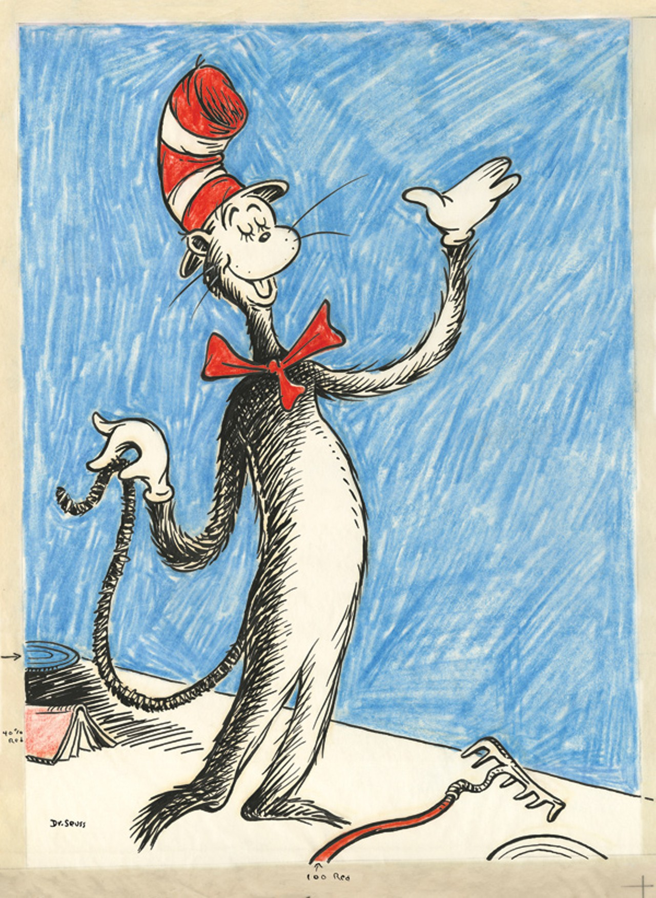 Dr Seuss Illustrations Cat In The Hat