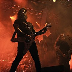 Slayer at the most recent Riot Fest