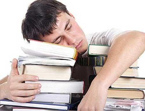 Sleeping really may help you study.