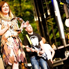 Slowdive at the 2014 Pitchfork Music Festival