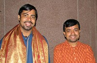 South Indian vocal pyrotechnics from the Carnatica Brothers