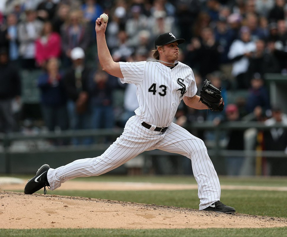 Sox closer Addison Reed is 1-0 with three saves.