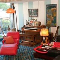 Space: A Musician's Honeycomb Hideout in Lakeview  Andrea Bauer