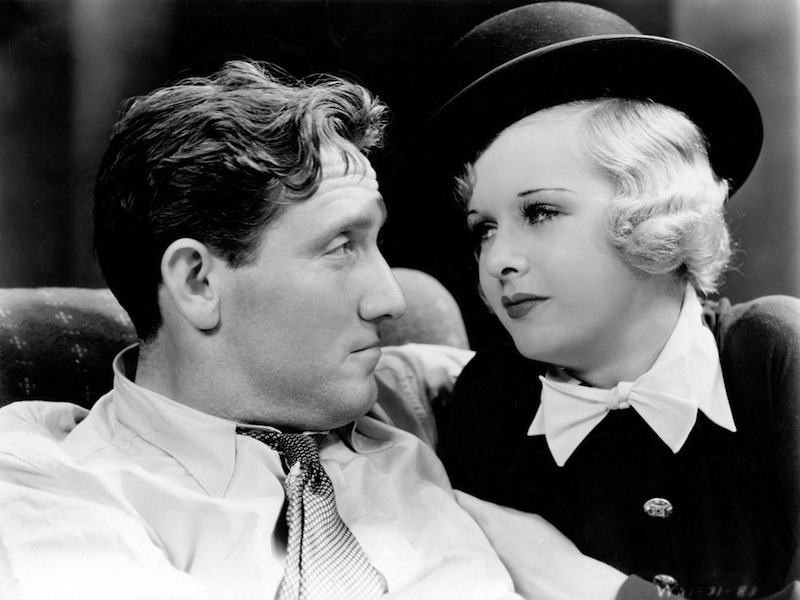 Spencer Tracy and Joan Bennett in Me and My Gal, of which Ive only seen the first 15 minutes.