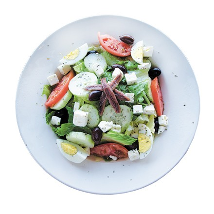 Stanley's Grill's Greek salad