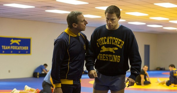 Steve Carell (left) and Channing Tatum
