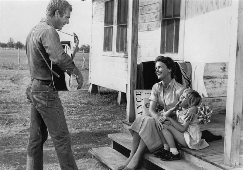 Steve McQueen and Lee Remick in Baby the Rain Must Fall