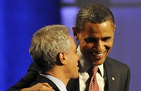 Strange political bedfellows: Mayor Rahm and I, rooting for Obama