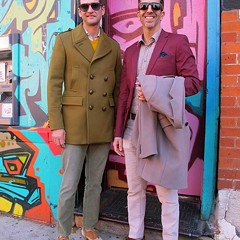 Street View 139: Freddie and Frank's fearless fashion