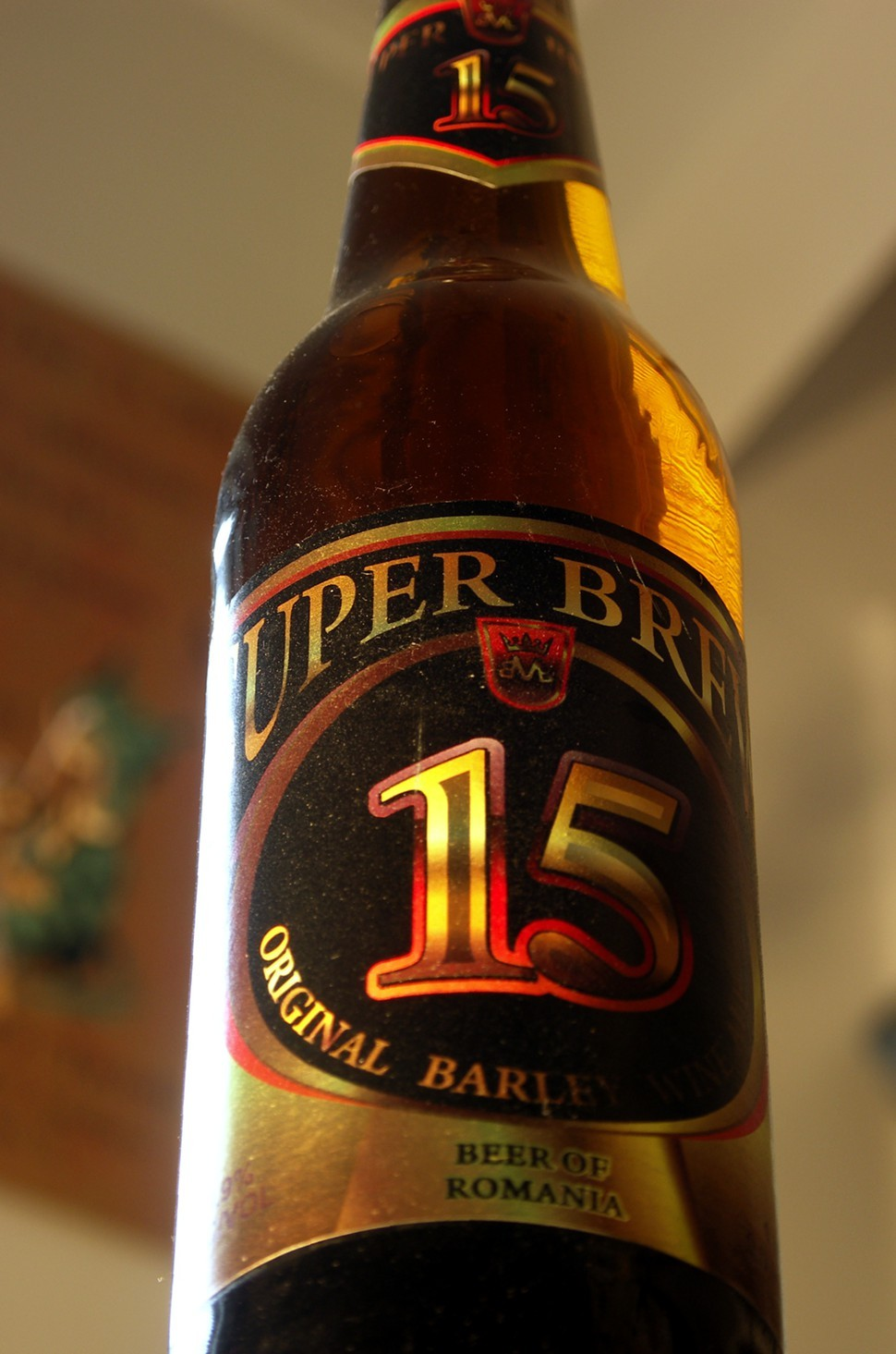 Super Brew 15, the beatdown shot