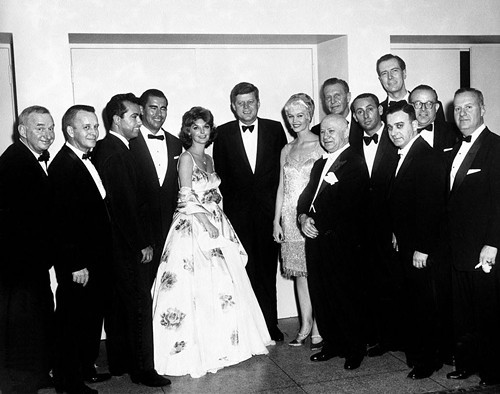 Taken at the testosterone-fueled 1961 dinner. The women are entertainers