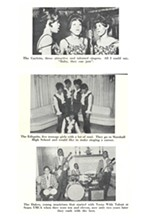 Teens With Talent bands: the Gayletts, the Ediquits, and Larry Blasingaine's group the Four Dukes - FROM THE COLLECTION OF BOB ABRAHAMIAN