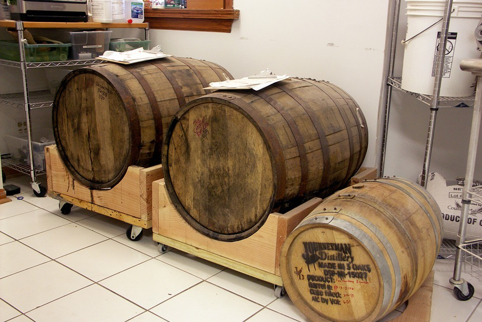 Thats Alvarados stout the Corrupt in the middle barrel.