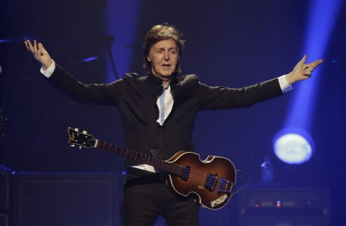 Thats Sir Paul McCartney