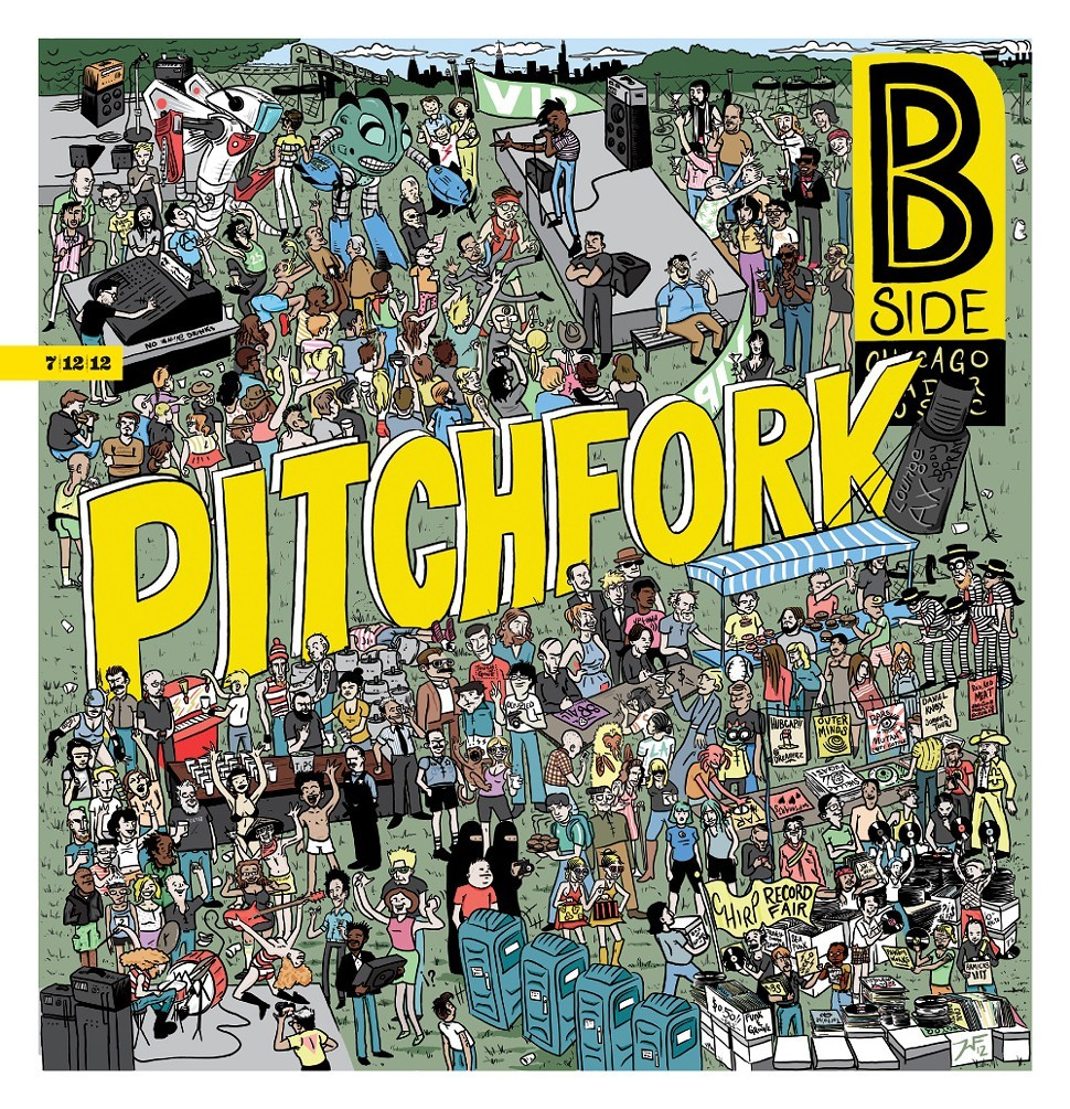 The B Side cover for last years Pitchfork Fest. Wait till this years comes out.