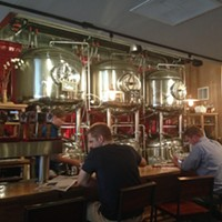 Pretty, pricey bites at DryHop Brewers
