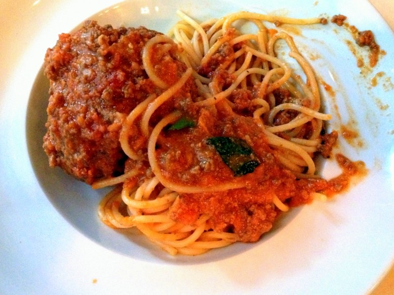The best spaghetti and meatballs ever?