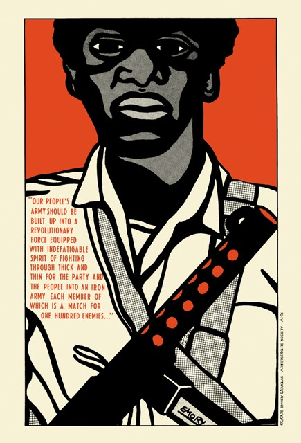 The Black Panther by Emory Douglas (1970).
