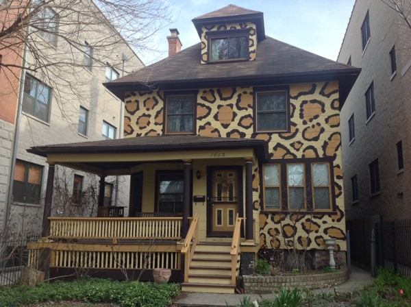 The Castle, a real animal house, at 1623 W. Estes in Rogers Park