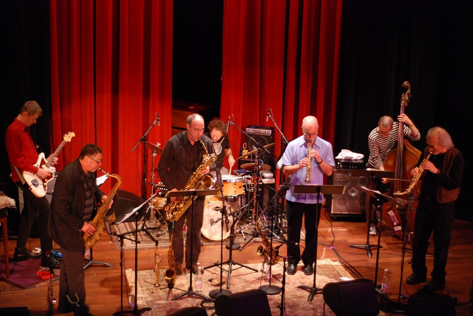 The Celestial Septet: ROVA + Nels Cline Singers