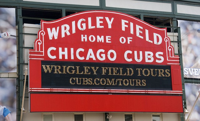 The Chicago Cubs, brought to you by . . .