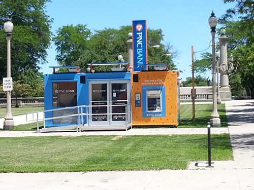 The Chicago Park District received $120,000 to allow the PNC bank branch to set up in Grant Park.