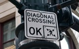 Best Intersection to Do the Pedestrian Scramble